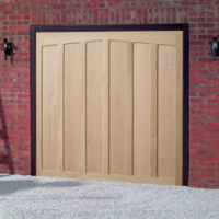 Up And Over Timber Garage Doors In Aberdeen Scotland